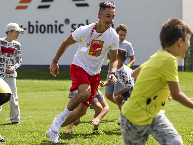Futbal v tábore