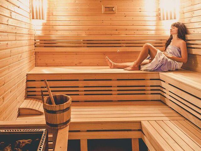 Sauna v salamandre