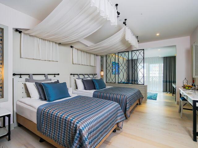 Izba mediterian v hoteli limak cyprus