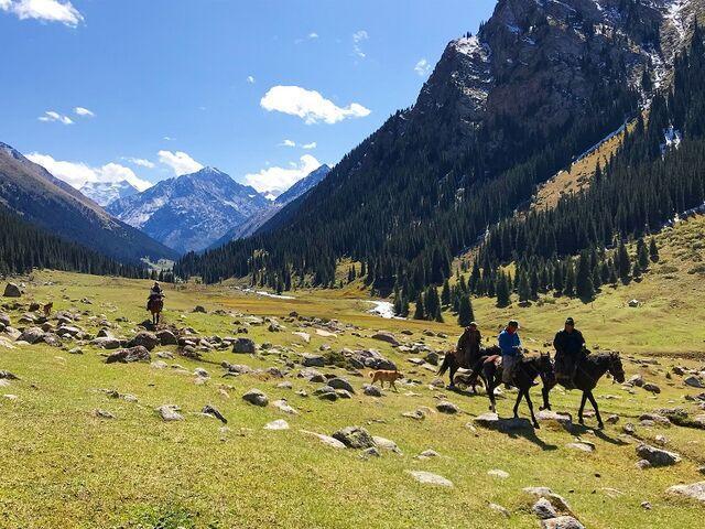 Príroda v kirgizsku