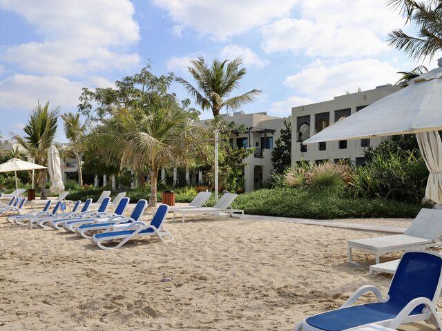 Pláž hotela hilton
