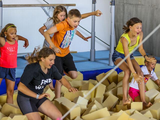 Gymnastika v tabore