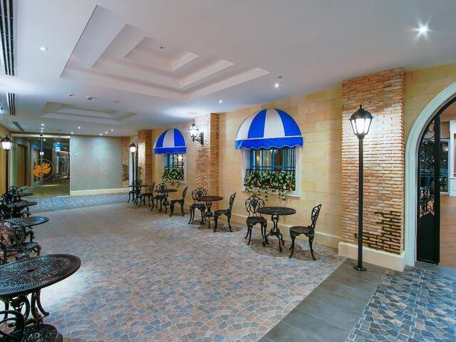 Reštaurácia hotela limak cyprus