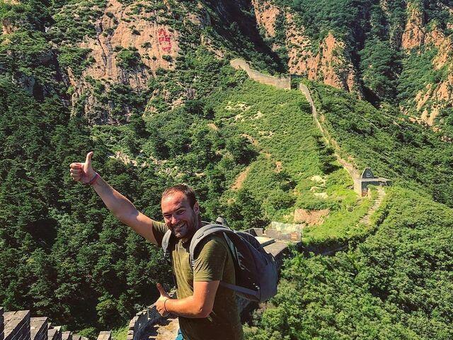 Juraj Kordík a Veľký čínsky múr