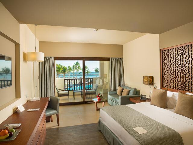 Izba v hoteli fanar v ománe
