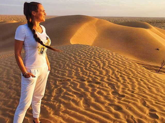 Adriana na púšti v ománe
