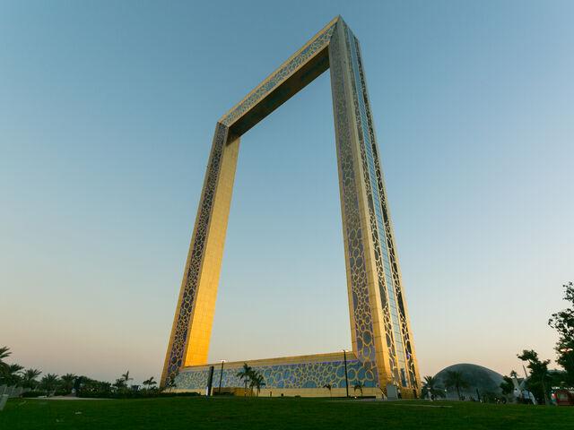 Dubai frame vyhliadka