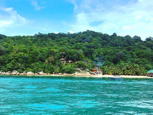 Ostrovy pernethian v malajzii