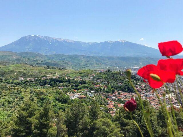 Albánske mesto berat
