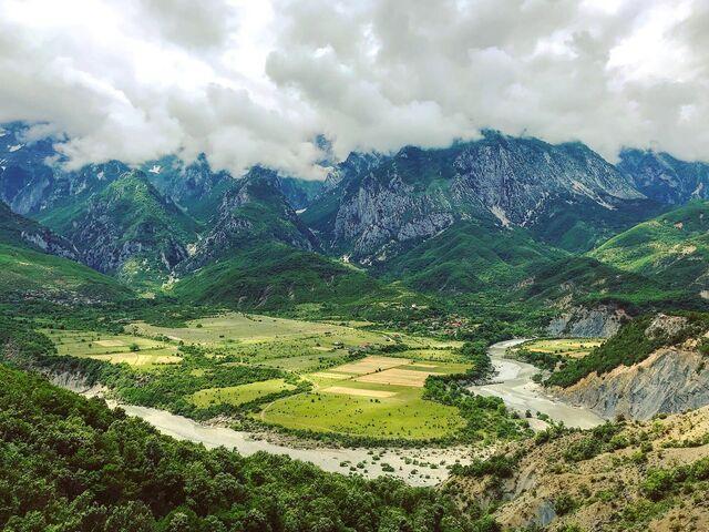 Národný park v albánsku