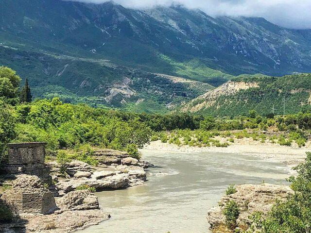 Národný park albánska