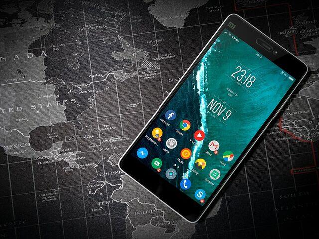 Telefon s aplikaciami