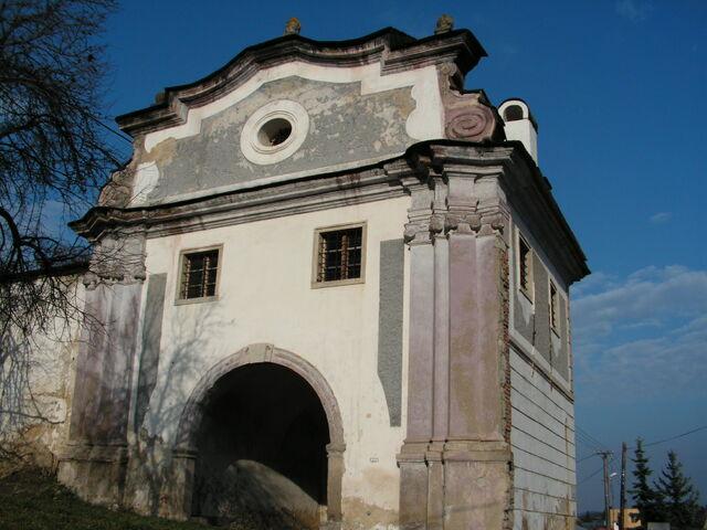 Piargska brána v štiavnici