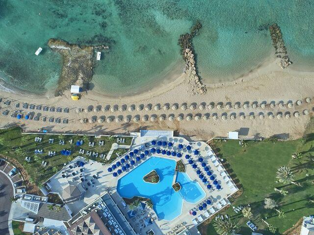 Areál hotela atlantic mare