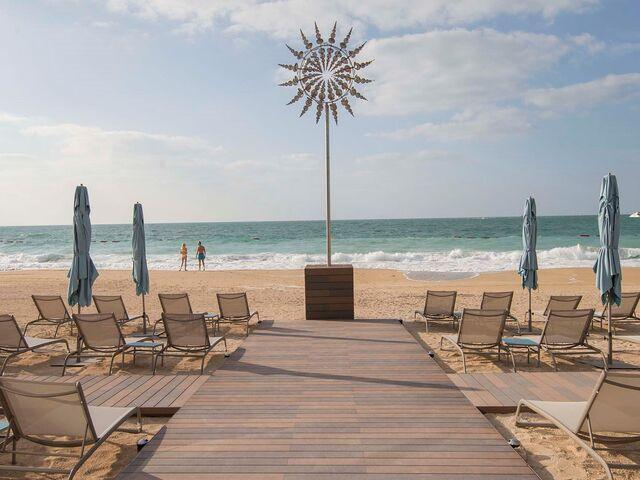 Pláž hotela caesars bluewaters dubai