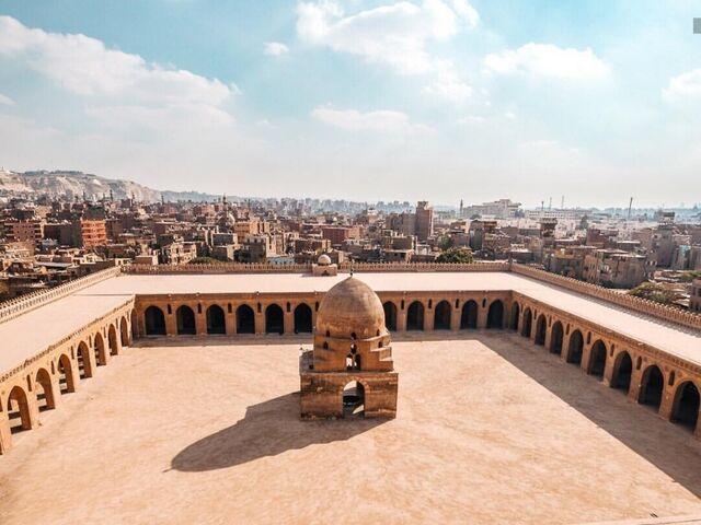 Káhira v egypte