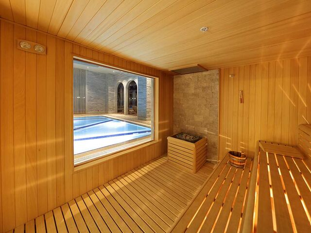 Sauna v hoteli sueno