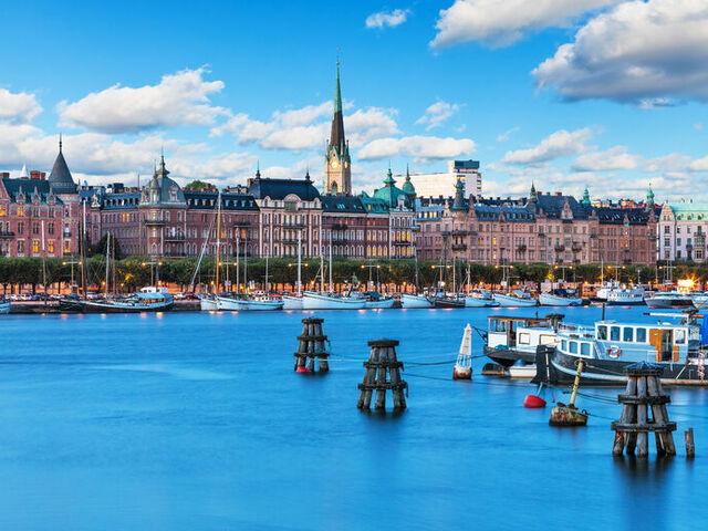 Prístav baltického mora
