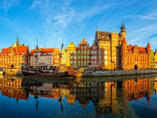 Mesto v poľsku