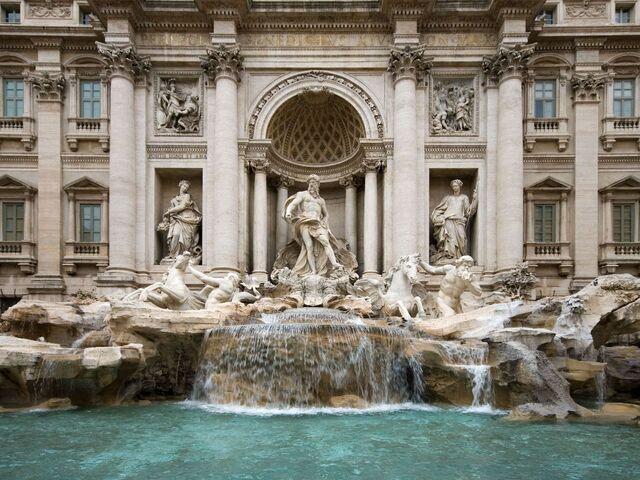 Fontana di trevi v ríme