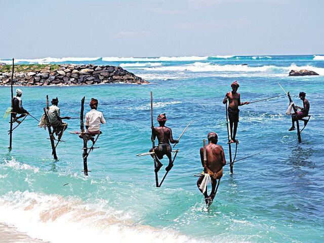 Rybári na srí lanke