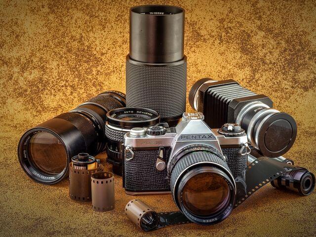Fotoaparáty minulosti