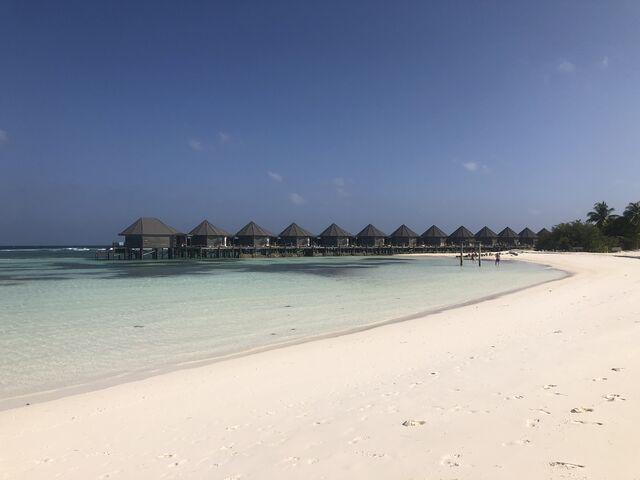 Domčeky na pláži