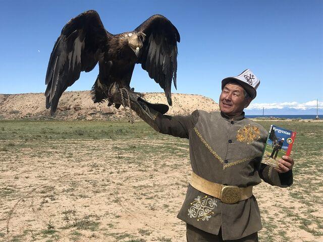 Orlí lovci v kirgizsku