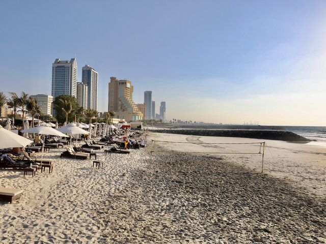 Pláž hotela ajman