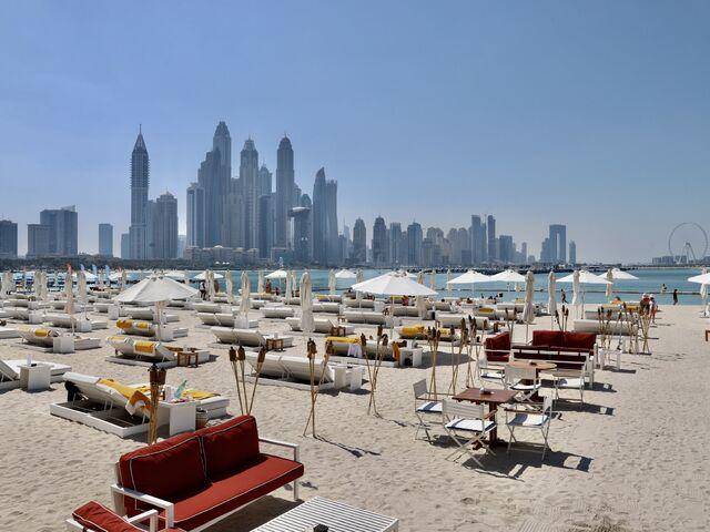 Pláž hotela five jumeirah