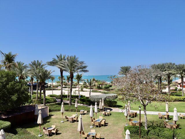 Záhrada hotela five jumeirah