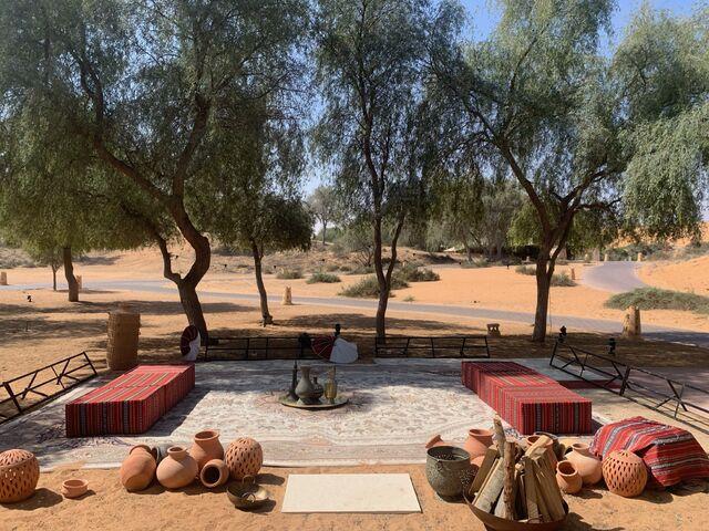 Posedenie v púšti