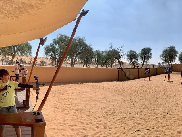 Strielanie v púšti