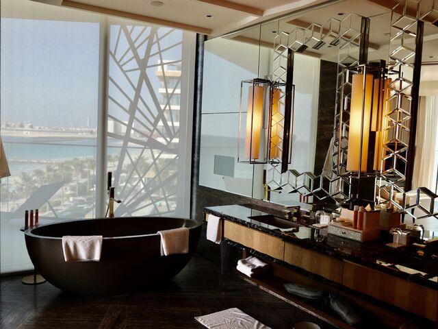 Výhľad z hotela mandarin