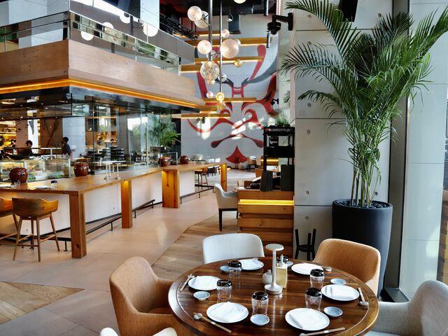 Reštaurácia hotela mandarin