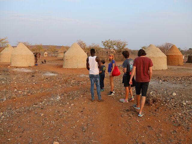 Tradičné obydlia v namíbii