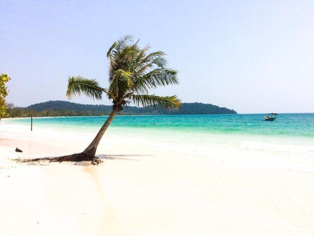 Pláž v ka mbodži