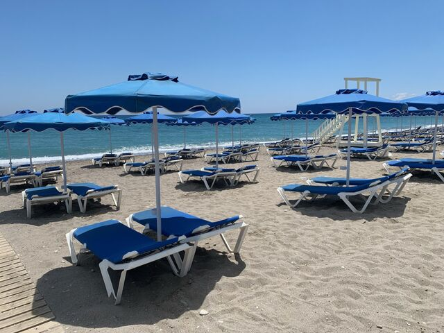 Lindos a pláž
