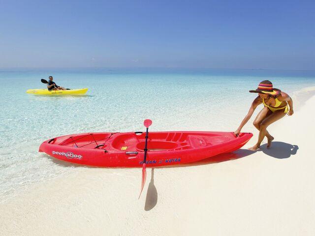 Aktévna dovolenka na maldivy