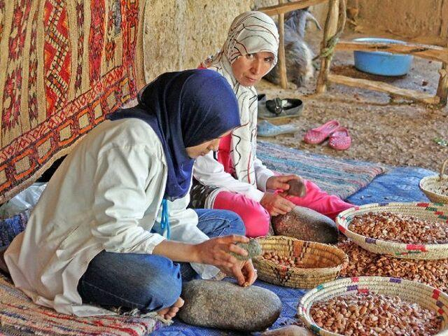 maroko domáce obyvateľstvo
