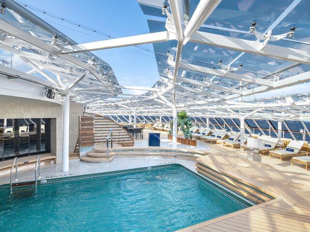 Bazény výletnej lodi msc bellissima