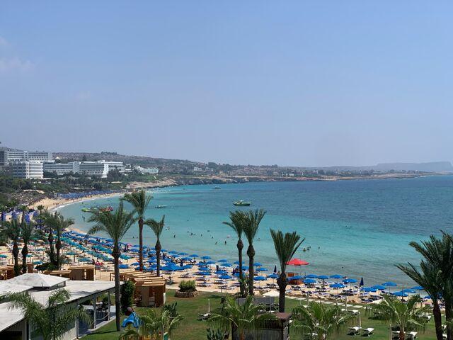 Okeanos pláž a záhrada