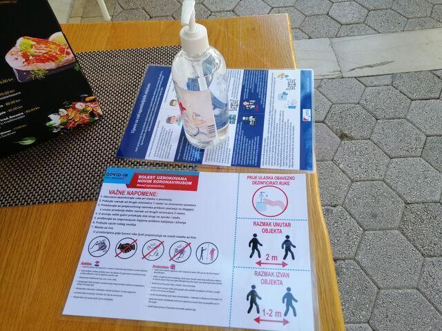 Opatrenia v chorvátsku