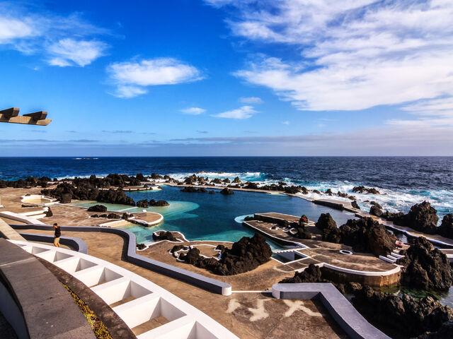 Morske kupanie na madeire