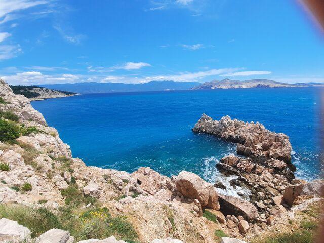 Jadranské more chorvátsko
