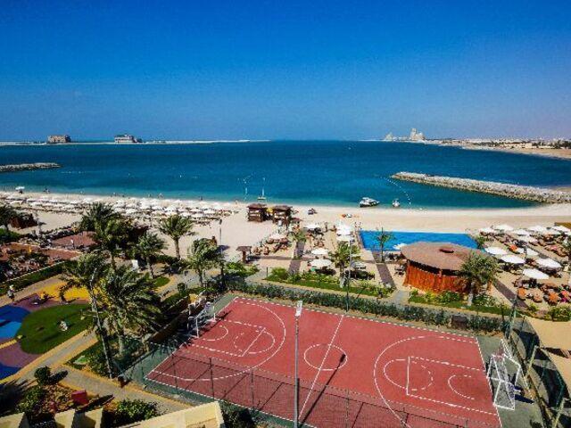 Areál hotela rixos bab al bahr v ras al khaimah