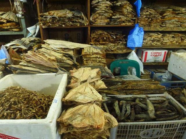Rybí trh na maldivách