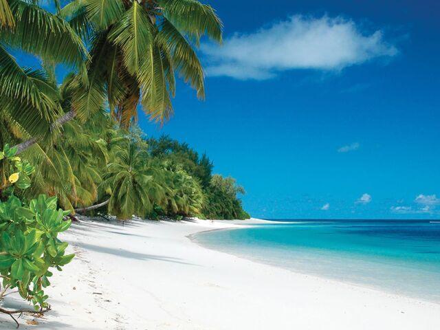 Pláž hotela sour seasons seychely