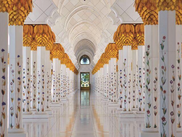 Mešita šejka zayeda v abu dhabi