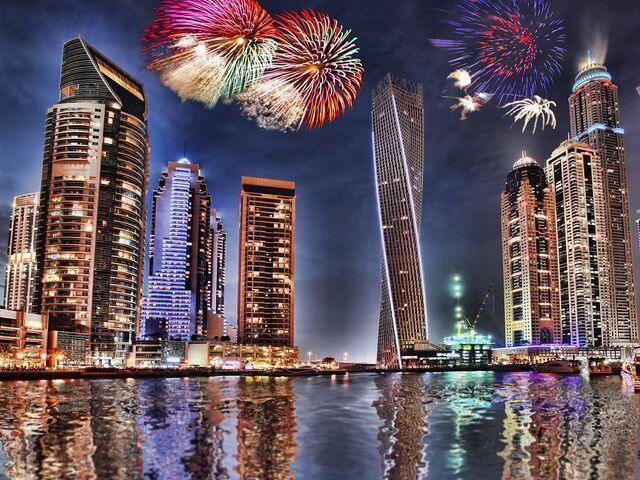 Silvester v Dubaji